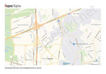 Мы на карте Яндекс